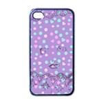 Little Face Apple iPhone 4 Case (Black) Front