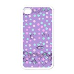 Little Face Apple iPhone 4 Case (White) Front