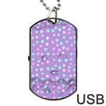 Little Face Dog Tag USB Flash (One Side) Front