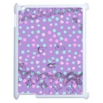 Little Face Apple iPad 2 Case (White) Front