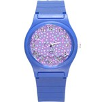 Little Face Round Plastic Sport Watch (S) Front