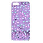 Little Face Apple iPhone 5 Seamless Case (White) Front