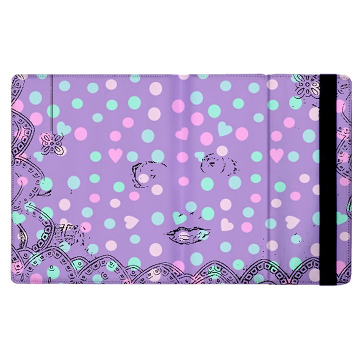 Little Face Apple iPad 2 Flip Case