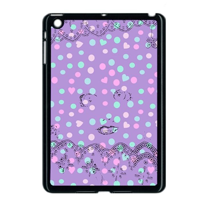 Little Face Apple iPad Mini Case (Black)