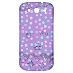 Little Face Samsung Galaxy S3 S III Classic Hardshell Back Case Front