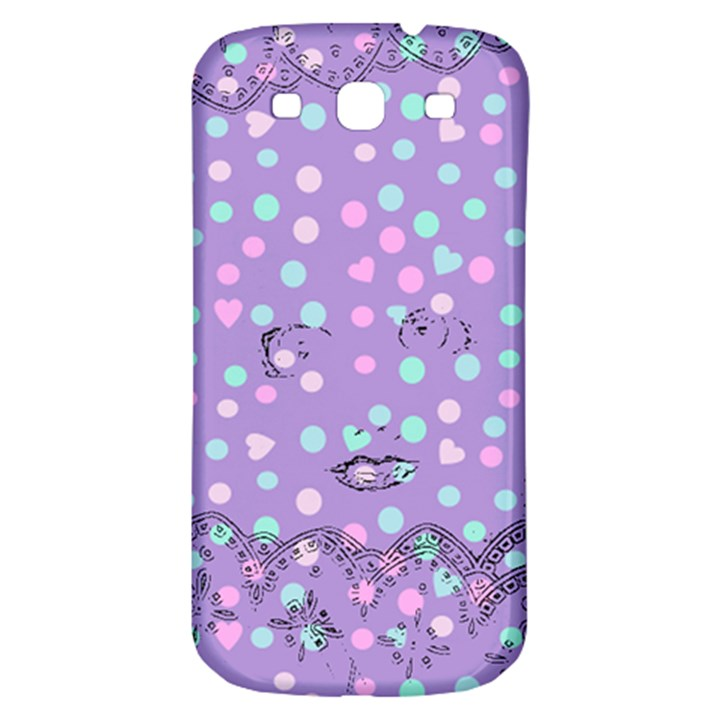 Little Face Samsung Galaxy S3 S III Classic Hardshell Back Case