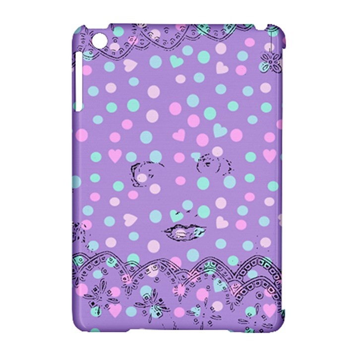 Little Face Apple iPad Mini Hardshell Case (Compatible with Smart Cover)