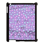 Little Face Apple iPad 3/4 Case (Black) Front