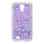 Little Face Samsung GALAXY S4 I9500/ I9505 Case (White) Front