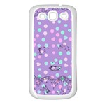 Little Face Samsung Galaxy S3 Back Case (White) Front
