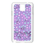 Little Face Samsung Galaxy Note 3 N9005 Case (White) Front