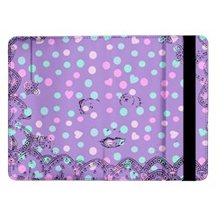 Little Face Samsung Galaxy Tab Pro 12 2  Flip Case