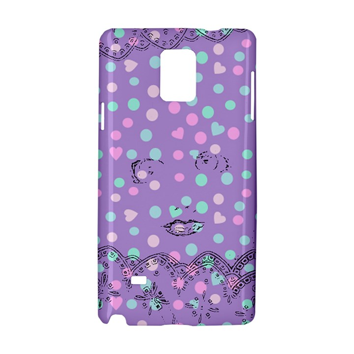 Little Face Samsung Galaxy Note 4 Hardshell Case