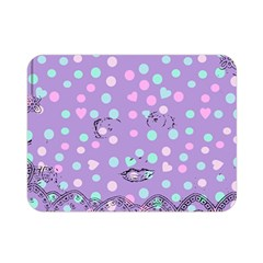 Little Face Double Sided Flano Blanket (mini)