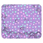 Little Face Double Sided Flano Blanket (Small)  50 x40 Blanket Back