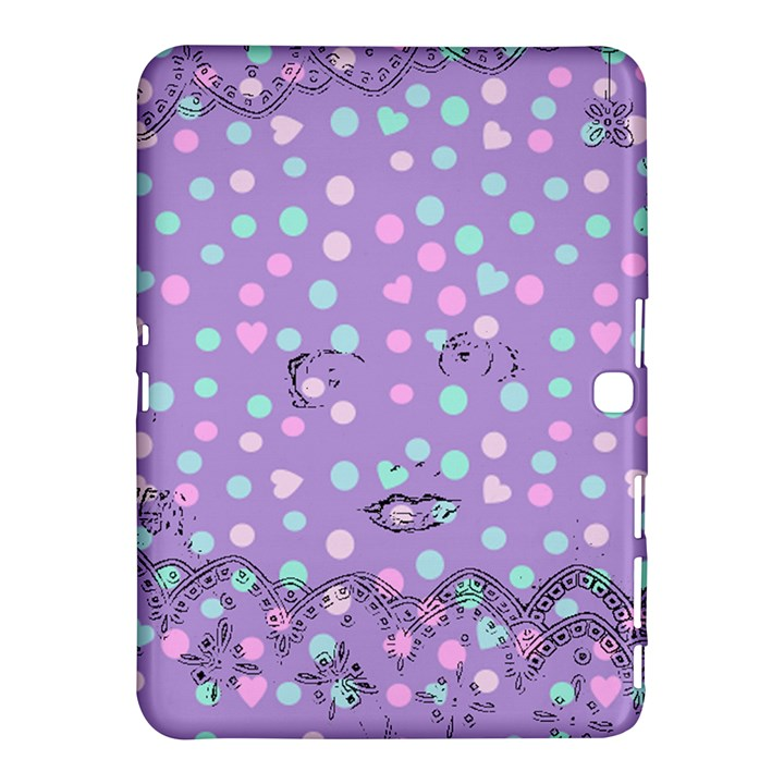Little Face Samsung Galaxy Tab 4 (10.1 ) Hardshell Case