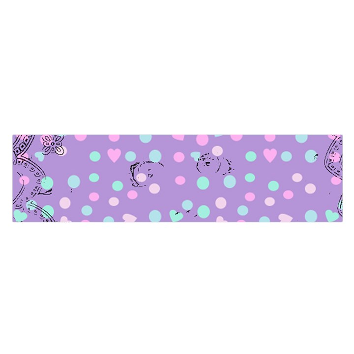 Little Face Satin Scarf (Oblong)