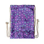 Little Face Drawstring Bag (Small) Front