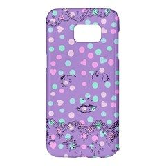 Little Face Samsung Galaxy S7 Edge Hardshell Case