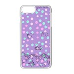 Little Face Apple iPhone 8 Plus Seamless Case (White) Front