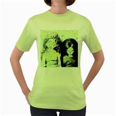 Mint Wall Women s Green T Shirt