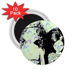Mint Wall 2.25  Magnets (10 pack)  Front
