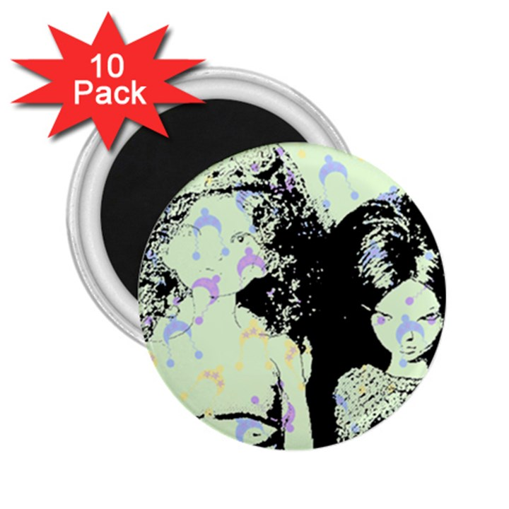 Mint Wall 2.25  Magnets (10 pack)