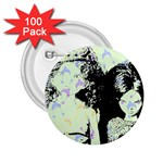 Mint Wall 2.25  Buttons (100 pack)  Front