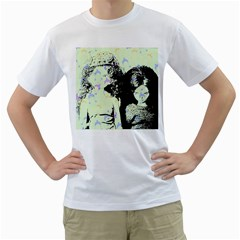 Mint Wall Men s T Shirt (white) (two Sided)