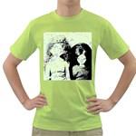 Mint Wall Green T-Shirt Front