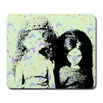 Mint Wall Large Mousepads Front