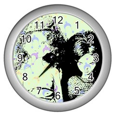 Mint Wall Wall Clocks (silver)