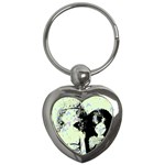 Mint Wall Key Chains (Heart)  Front