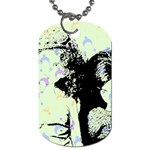 Mint Wall Dog Tag (Two Sides) Back