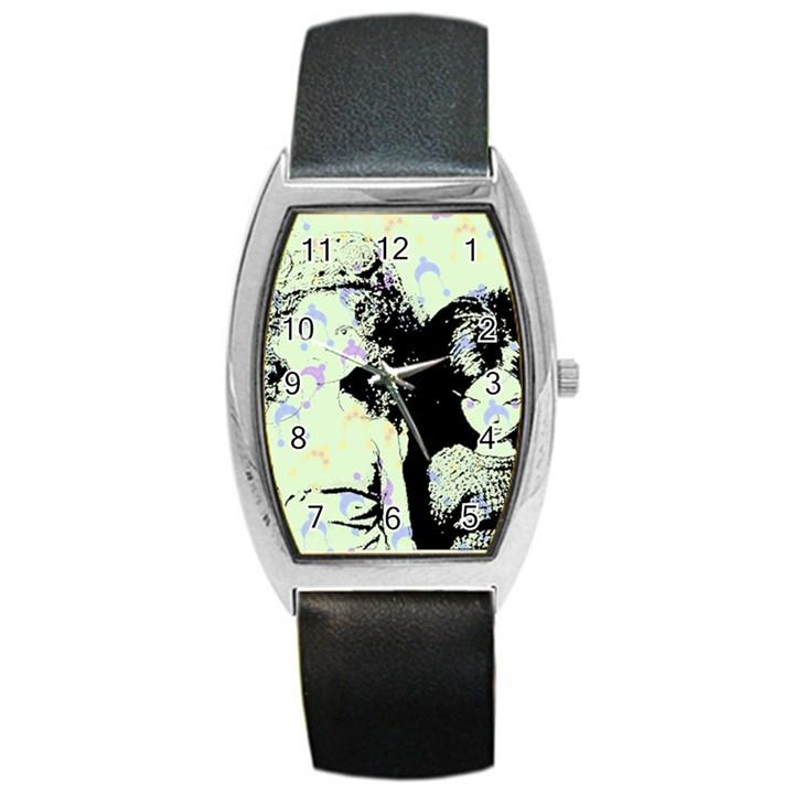 Mint Wall Barrel Style Metal Watch