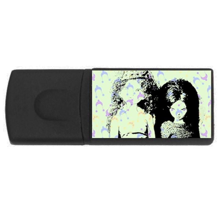 Mint Wall Rectangular USB Flash Drive