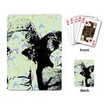 Mint Wall Playing Card Back