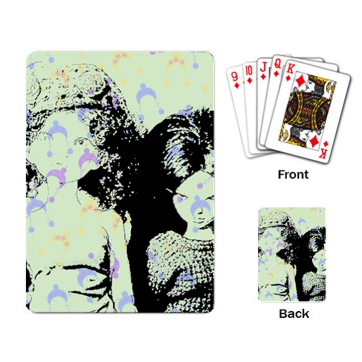 Mint Wall Playing Card