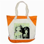 Mint Wall Accent Tote Bag Front