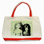 Mint Wall Classic Tote Bag (Red) Front
