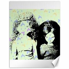 Mint Wall Canvas 36  X 48