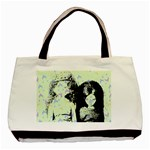 Mint Wall Basic Tote Bag (Two Sides) Back