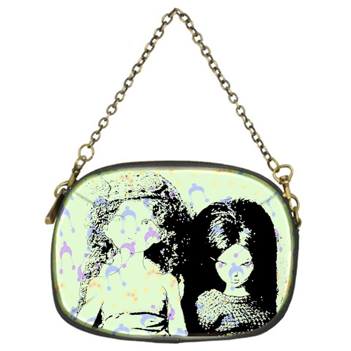 Mint Wall Chain Purses (One Side)