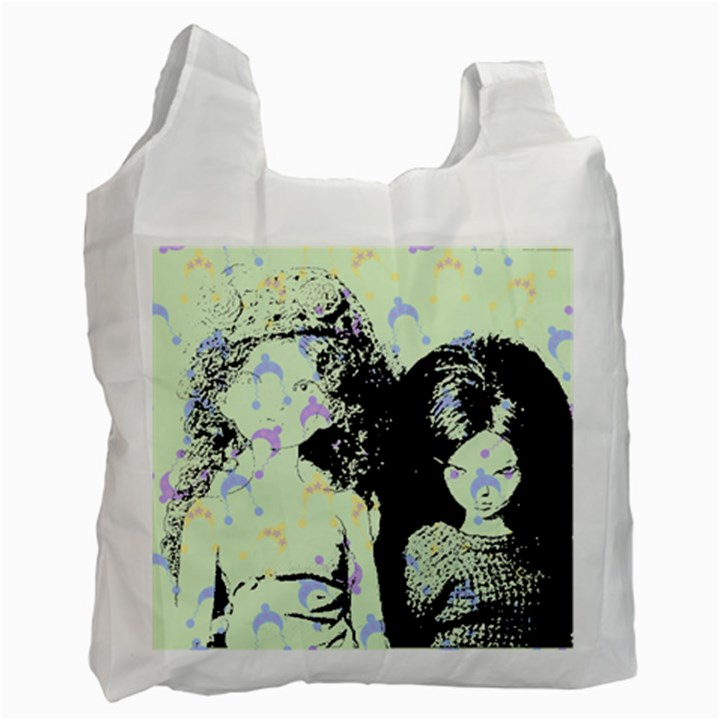 Mint Wall Recycle Bag (Two Side)