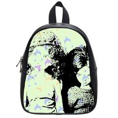 Mint Wall School Bag (small)
