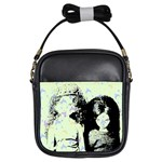 Mint Wall Girls Sling Bags Front