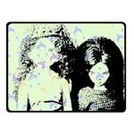 Mint Wall Fleece Blanket (Small) 50 x40 Blanket Front