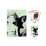 Mint Wall Playing Cards (Mini)  Back