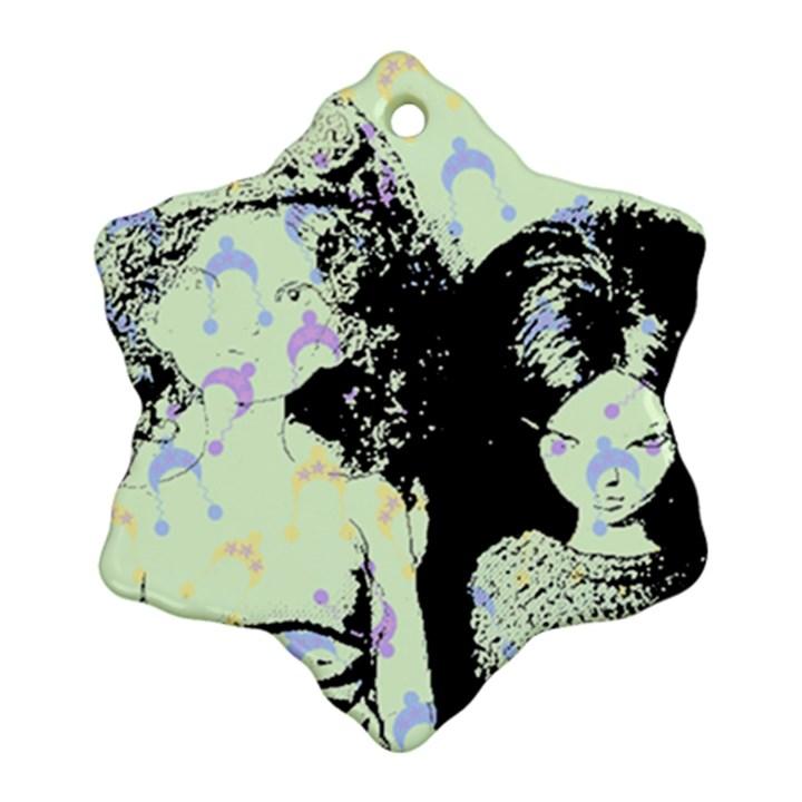 Mint Wall Ornament (Snowflake)