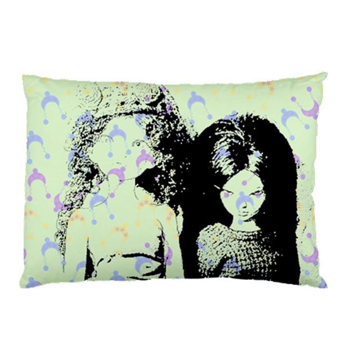 Mint Wall Pillow Case (Two Sides)